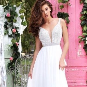Sherrie Hill A-Line Gown